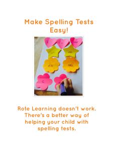 Learning-spellings-doesn't-work