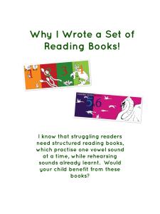 Set-of-reading-books